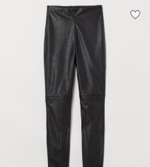 H&M bőr legging 36-os (pirosban is!)