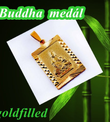 Buddha medál, goldfilled, nem okoz allergiát