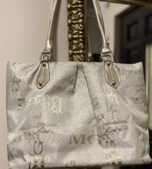 MGM arany bézs táska