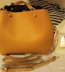 Mustár sárga táska