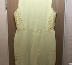 H&M sárga csipkés nyári ruha