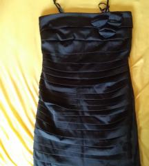 Fekete cipzáros vadonatúj ruha S,M