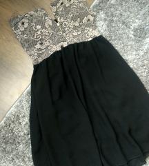Fekete alkalmi ruha S