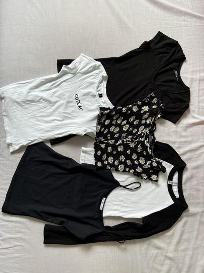 ZARA Bsk BLACK&WHITE Set