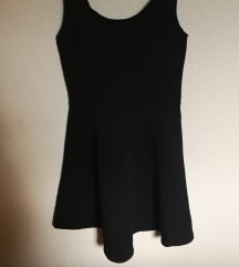 H&M fekete nyári ruha