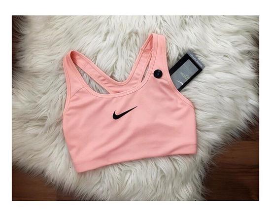 Nike pink edző top