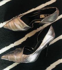 Zara 39-es ezüst cipő