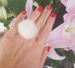 Eredeti Furla valódi szőr gyűrű