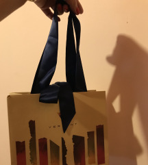 Masnis papir táska, szep uj, karl lagerfeld