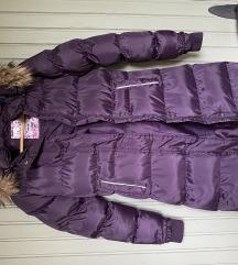 Tchibo lila téli kabát