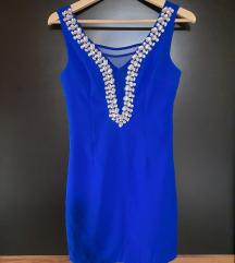 Kék köves ruha