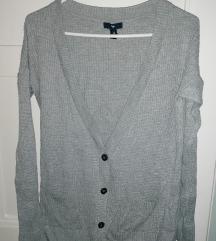 Szürke Gap kardigán, pulóver, pulcsi