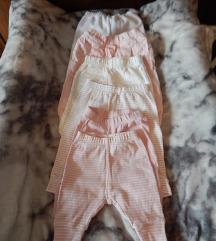 Kislány nadrág csomag,6db, 0-3 hónapos korig
