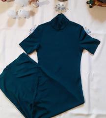 H&m hosszú méregzöld ruha