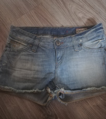 Retro Jeans short, farner rövidnadrág