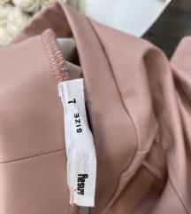 Sinsay rózsaszín bőrnadrág
