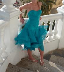 Victoria's Secret türkizkék ruha M
