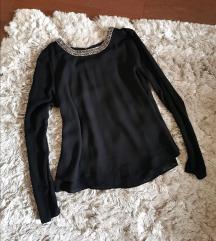 Orsay elegáns fekete blúz XS Kiárusítás