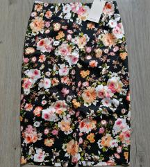 🎀 Új, címkés virágos Orsay szoknya