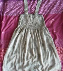 M-L - Új szürke batikolt mintás rövid ruha