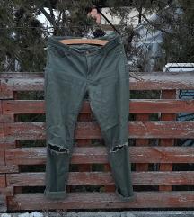 Kekizöld nadrág