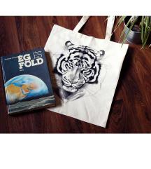 ♥ tigrises vászontáska