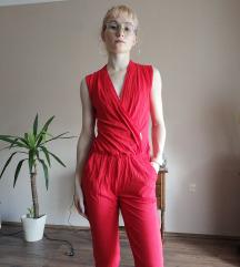 Piros overall La Pierre