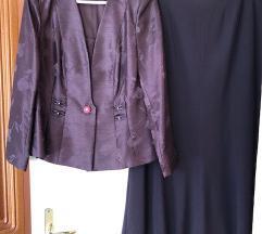 Martha may lila padlizsán gyönyörű női kosztüm