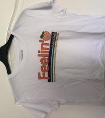 Laza rövidített fazonú póló