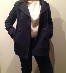 BERSHKA őszi/tavaszi szövet kabát
