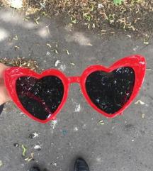 SL Loulou piros szív napszemüveg