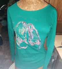 L-es zöld cipős felső