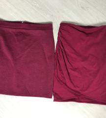 Bordó miniszoknyák H&M