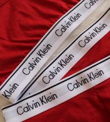 Calvin Klein piros fehérnemű szett
