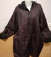 BUDMIL, női, kapucnis télikabát, XL-es