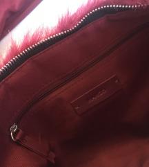 Bordó alkalmi ruha/hosszított blúz + mango táska