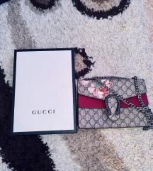 Eredeti bőr Gucci Dyonusos Bloom bag táska