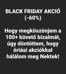 GARDRÓB ÜRÍTÉS! Black Friday