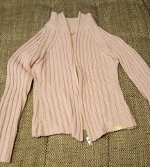 Rózsaszín S-es Aboriginal cipzáros pulóver