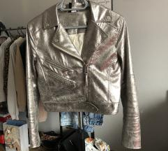Ezüst H&M dzseki
