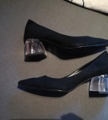 LEÉRTÉKELTEM! Üvegtalpú bershka cipő