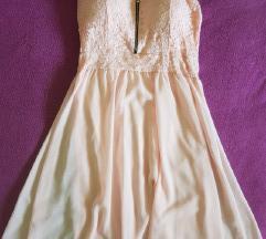 Rózsaszín alkalmi ruha S