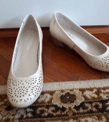 36-37-es, vajszínű, Clara Barson balerina cipő