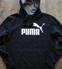 Újszerű '  Puma ' férfi kapucnis pulóver
