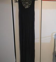 Hátul csipkés hosszú ruha