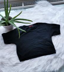 Fekete crop top XS/S