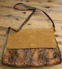Zara barna táska Clutch