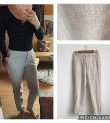 S-es Zara len vászon nadrág