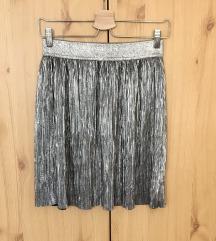 H&M ezüst színű szoknya