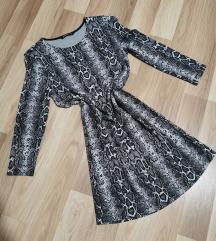 Piton mintás ruha